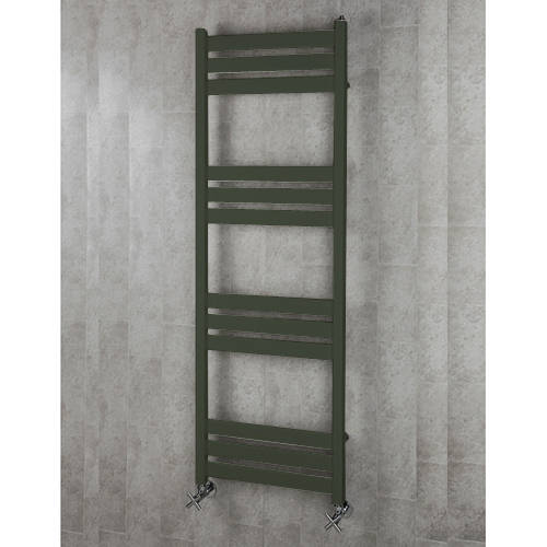 Additional image for Heated Towel Rail & Wall Brackets 1500x500 (Signal Black).