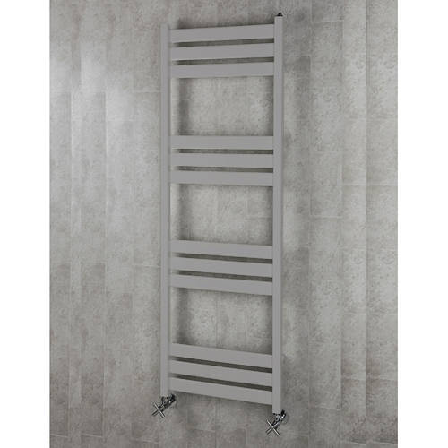 Additional image for Heated Towel Rail & Wall Brackets 1500x500 (White Alumin).