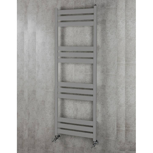 Additional image for Heated Towel Rail & Wall Brackets 1500x500 (Grey Aluminium).