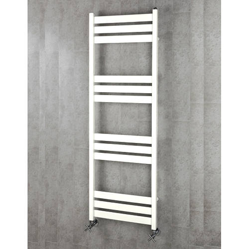 Additional image for Heated Towel Rail & Wall Brackets 1500x500 (Pure White).