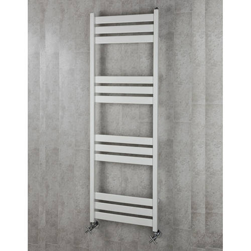 Additional image for Heated Towel Rail & Wall Brackets 1500x500 (White).
