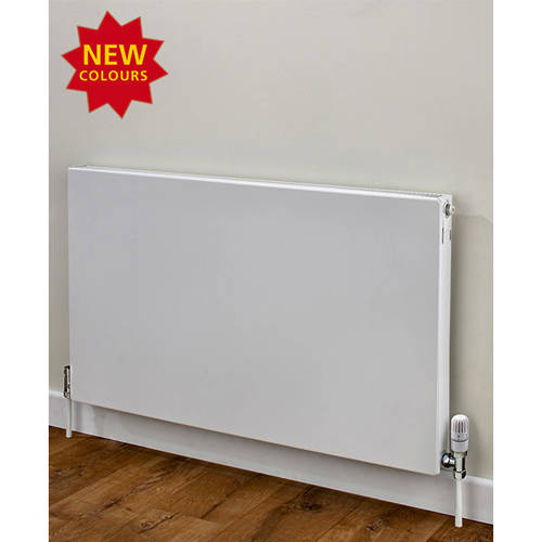 Additional image for Faraday Type 11 Radiator 400x1000mm (K1, White, 2160 BTUs).