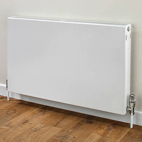 Additional image for Faraday Type 22 Radiator 400x800mm (K2, White, 3057 BTUs).