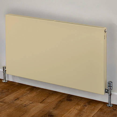Additional image for Faraday Type 21 Radiator 600x1200mm (P+, Light Ivory, 4975 BTUs).