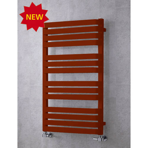 Additional image for Heated Towel Rail & Wall Brackets 1110x500 (Purple Red).