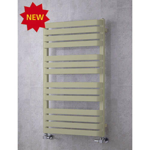 Additional image for Heated Towel Rail & Wall Brackets 1110x500 (Pebble Grey).