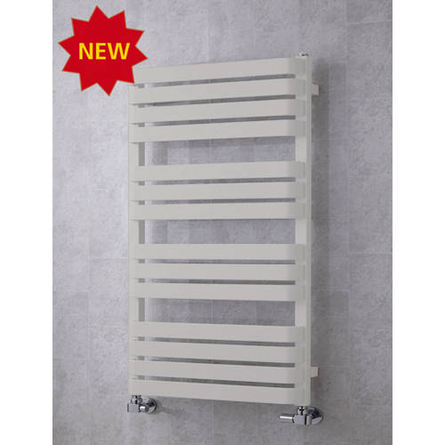 Additional image for Heated Towel Rail & Wall Brackets 1110x500 (Light Grey).