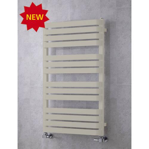 Additional image for Heated Towel Rail & Wall Brackets 1110x500 (Silk Grey).