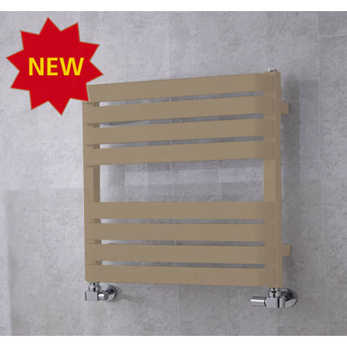 Additional image for Heated Towel Rail & Wall Brackets 655x500 (Grey Beige).