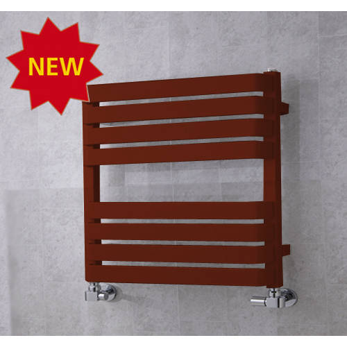 Additional image for Heated Towel Rail & Wall Brackets 655x500 (Purple Red).
