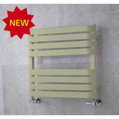 Additional image for Heated Towel Rail & Wall Brackets 655x500 (Pebble Grey).