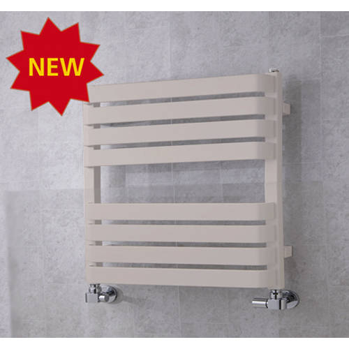 Additional image for Heated Towel Rail & Wall Brackets 655x500 (Light Grey).