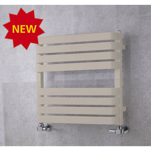Additional image for Heated Towel Rail & Wall Brackets 655x500 (Silk Grey).