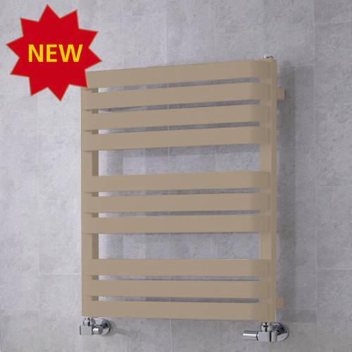 Additional image for Heated Towel Rail & Wall Brackets 785x500 (Grey Beige).