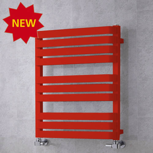 Additional image for Heated Towel Rail & Wall Brackets 785x500 (Flame Red).