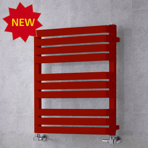 Additional image for Heated Towel Rail & Wall Brackets 785x500 (Ruby Red).