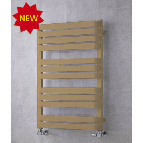 Additional image for Heated Towel Rail & Wall Brackets 915x500 (Grey Beige).