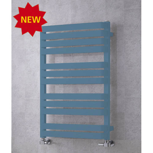 Additional image for Heated Towel Rail & Wall Brackets 915x500 (Pastel Blue).