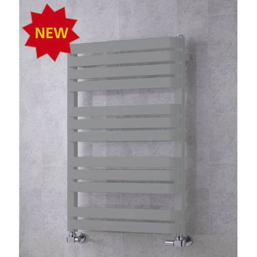 Additional image for Heated Towel Rail & Wall Brackets 915x500 (Window Grey).