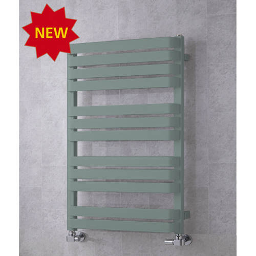 Additional image for Heated Towel Rail & Wall Brackets 915x500 (Traffic Grey A).