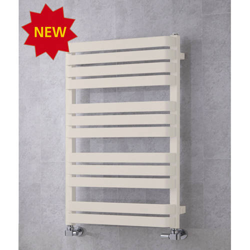 Additional image for Heated Towel Rail & Wall Brackets 915x500 (Cream).