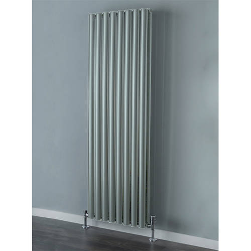 Additional image for Tallis Double Vertical Radiator 1820x480mm (Traffic Grey).