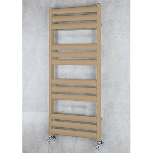 Additional image for Heated Ladder Rail & Wall Brackets 1060x500 (Grey Beige).