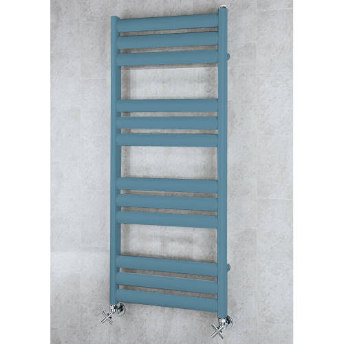 Additional image for Heated Ladder Rail & Wall Brackets 1060x500 (Pastel Blue).