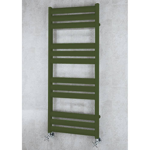 Additional image for Heated Ladder Rail & Wall Brackets 1060x500 (Grey Olive).