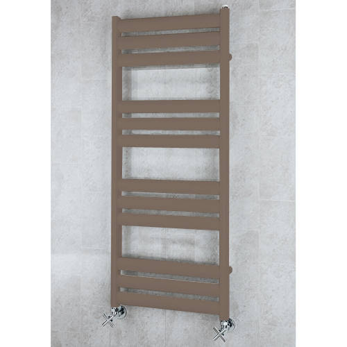 Additional image for Heated Ladder Rail & Wall Brackets 1060x500 (Pale Brown).