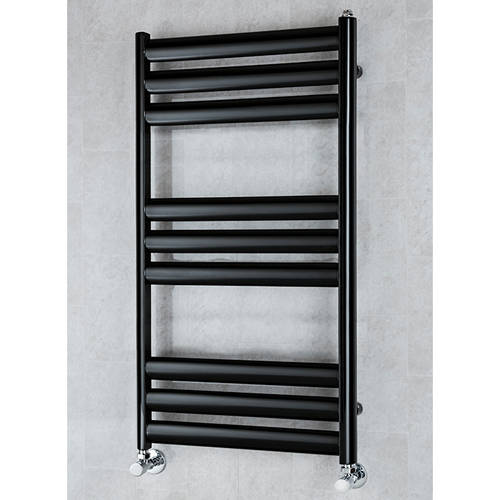 Additional image for Heated Ladder Rail & Wall Brackets 780x500 (Black).