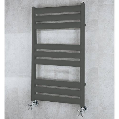 Additional image for Heated Ladder Rail & Wall Brackets 780x500 (Grey Olive).