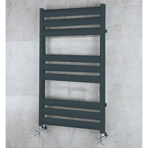 Additional image for Heated Ladder Rail & Wall Brackets 780x500 (Anthracite Grey).