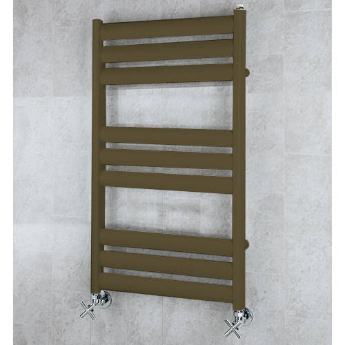 Additional image for Heated Ladder Rail & Wall Brackets 780x500 (Nut Brown).