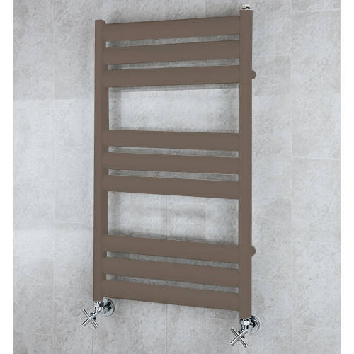 Additional image for Heated Ladder Rail & Wall Brackets 780x500 (Pale Brown).