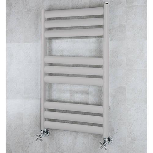 Additional image for Heated Ladder Rail & Wall Brackets 780x500 (White Aluminium).