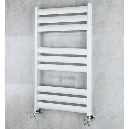 Additional image for Heated Ladder Rail & Wall Brackets 780x500 (White).