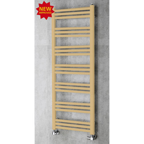 Additional image for Heated Ladder Rail & Wall Brackets 1374x500 (Beige).
