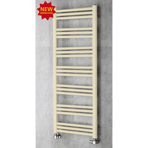 Additional image for Heated Ladder Rail & Wall Brackets 1374x500 (Light Ivory).