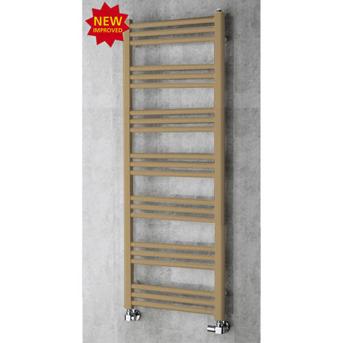 Additional image for Heated Ladder Rail & Wall Brackets 1374x500 (Grey Beige).