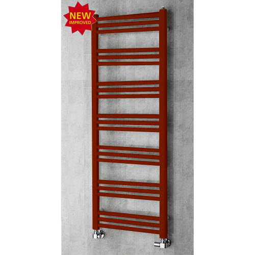 Additional image for Heated Ladder Rail & Wall Brackets 1374x500 (Purple Red).