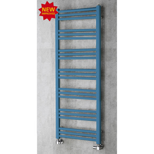 Additional image for Heated Ladder Rail & Wall Brackets 1374x500 (Pastel Blue).