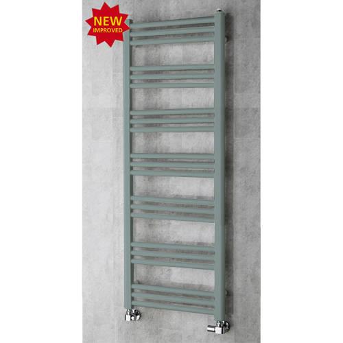 Additional image for Heated Ladder Rail & Wall Brackets 1374x500 (Traffic Grey A).