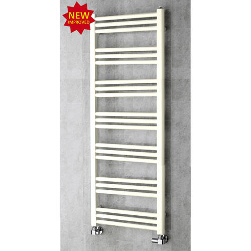 Additional image for Heated Ladder Rail & Wall Brackets 1374x500 (Cream).
