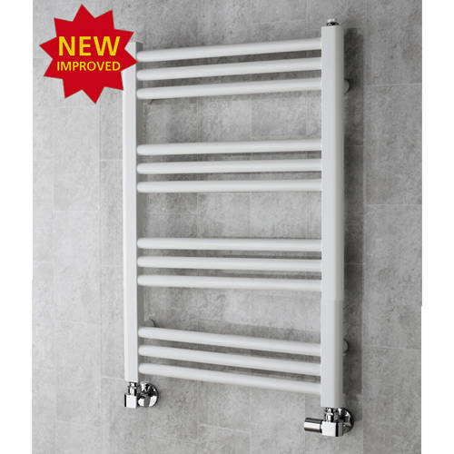 Additional image for Heated Ladder Rail & Wall Brackets 759x500 (White).