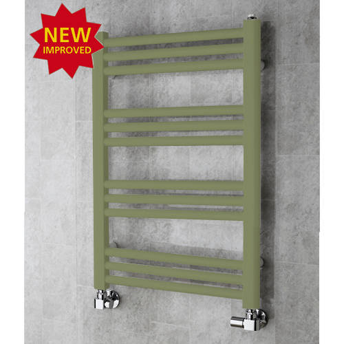 Additional image for Heated Ladder Rail & Wall Brackets 759x500 (Reed Green).