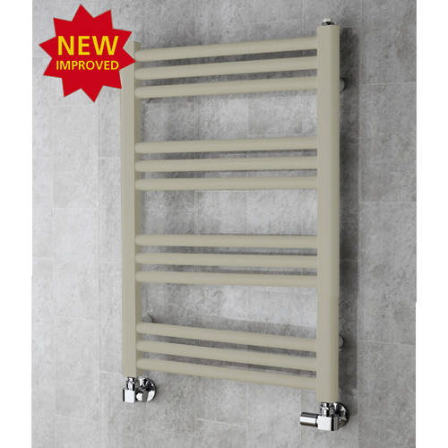Additional image for Heated Ladder Rail & Wall Brackets 759x500 (Pebble Grey).