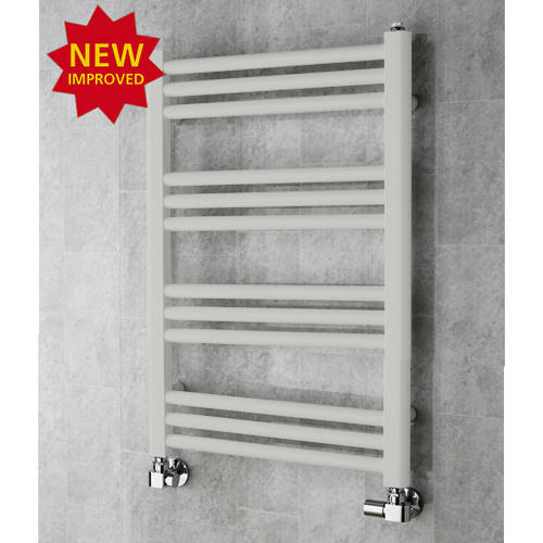 Additional image for Heated Ladder Rail & Wall Brackets 759x500 (Light Grey).