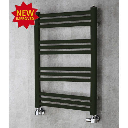Additional image for Heated Ladder Rail & Wall Brackets 759x500 (Signal Black).