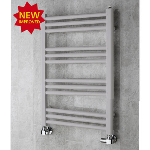 Additional image for Heated Ladder Rail & Wall Brackets 759x500 (White Aluminium).